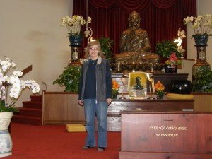 Margot, Buddhist Temple, August 13, 2011